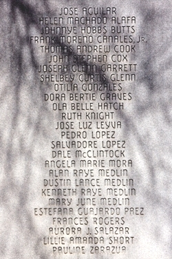 Photo of Memorial Plaque